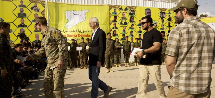 وليام روباك: فقدنا نفوذًا كبيرًا وسط التوغل التركي في سوريا