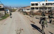 إدلب.. القوات التركية تمشط المنطقة المحيطة بالطريق الدولي