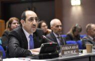 ترشيح مندوب سوريا لشغل منصب رفيع في لجنة