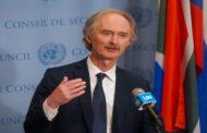 بيدرسون في دمشق لبحث القرار 2254 والوضع المعيشي للشعب السوري