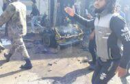 قتلى وجرحى في انفجار سيارة مفخخة وسط مدينة الراعي شمالي سوريا