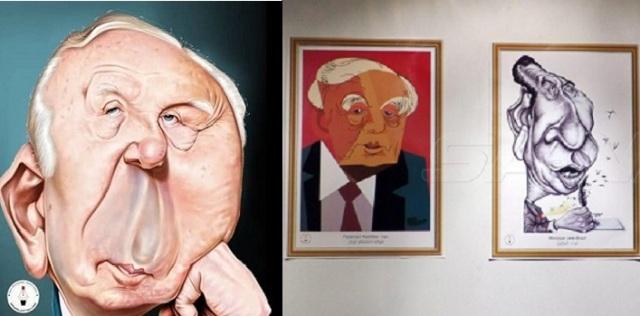 في دورته الـ 17 معرض سورية الدولي للكاريكاتير يحتفي بالشاعر الكبير نزار قباني