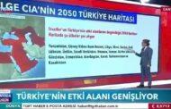 التلفزيون التركي يعرض خريطة