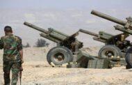 القوات الحكومية تقصف ريفي إدلب وحماة.. وانفجار لغم من مخلفات الحرب بمزارعين