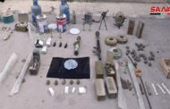 دير الزور.. القوات الحكومية تعثر على موقع لخلايا تنظيم داعش يحوي أسلحة وأجهزة اتصال