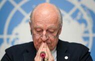 دي مستورا: سوريا لم تعد في خطر حرب شاملة لكنها لا تزال في خطر الانهيار.. والاضطرابات المناخية شكلت عاملا إضافيا للأزمة السورية