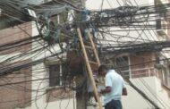 انتشار ظاهرة سرقة كابلات الكهرباء النحاسية بدمشق
