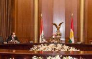 وفد من الائتلاف السوري برئاسة نصر الحريري يلتقي بارزاني في إقليم كردستان