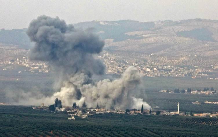 حميميم: مقتل خمسة مدنيين وإصابة ستة آخرين جراء ضربات مدفعية استهدفت ريف حلب الشمالي من مناطق سيطرة الجيش التركي