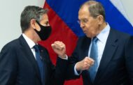 بلينكن خلال لقائه لافروف يؤكد وجوب إدخال المساعدات الإنسانية إلى سوريا