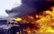 تنظيم داعش يتبنى استهداف صهريجين تابعين لشركة القاطرجي شرق مدينة الرقة