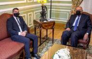 أشكينازي في القاهرة في أول زيارة لوزير خارجية اسرائيلي منذ 13 عاما