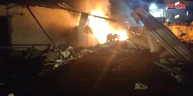 إسرائيل تستهدف مواقع في اللاذقية وحماة بسوريا.. مقتل شخص وإصابة 19 آخرين بجروح