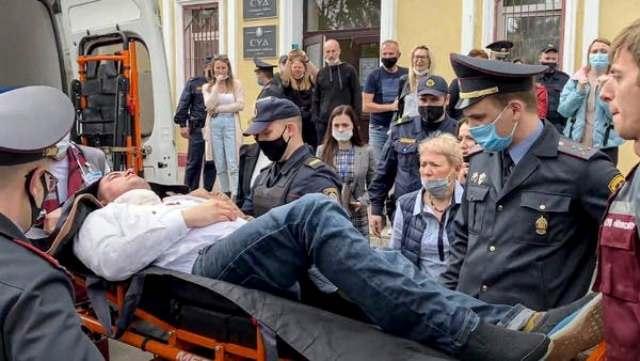 ناشط بيلاروسي معارض
